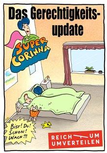 Abbildung Titelbild Comic: Das Gerechtigkeits-Update