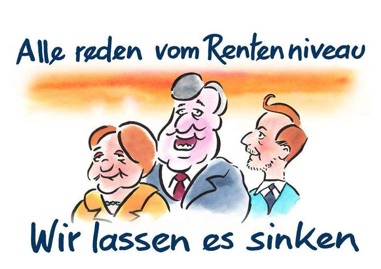 Sozialstaat, Rente